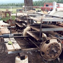 planting machine built in 1994 by Gary
