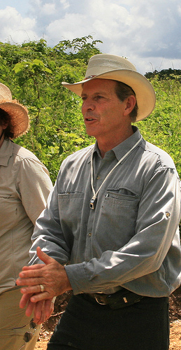 D. Gary Young in Ecuador