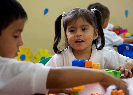 children at Young Living Academy in Ecuador