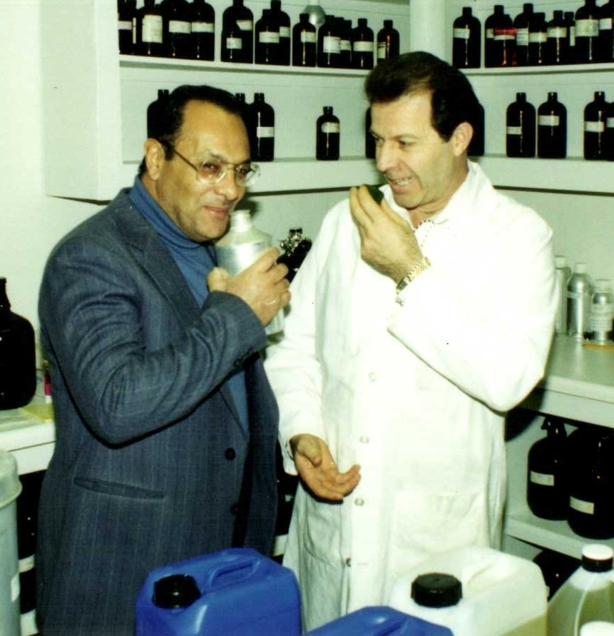 Thanks to a lady named Annemarie, Gary took a look at authentic, Europe essential oils and found them much different than America's perfume oils. This led to Gary studying with experts like Dr. Radwan Farag seen here with Gary at the Riverton, Utah, Young Living laboratory.