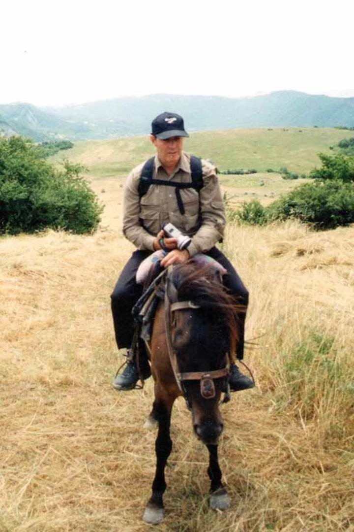 In this 2001 photo, Gary discovers einkorn as he conducted research in Azerbaijan.