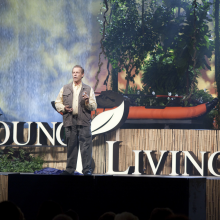 D Gary Young at 2009 Young Living Convention